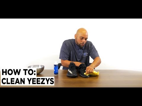 How to Clean Yeezys - Shoe MGK