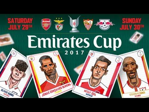 Emirates Cup: Arsenal VS Sevilla FC LIVE