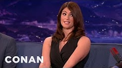 Gemma Arterton Once Punched A Bum - CONAN on TBS