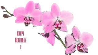 C   Flowers & Flores - Happy Birthday