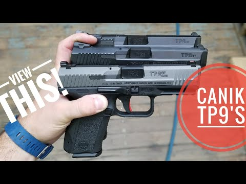 Canik TP9 SA, TP9 SF, TP9 SF ELITE - Table Top Talks!