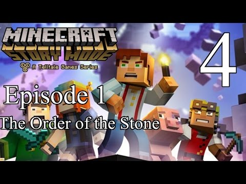 Tigey Plays: Minecraft Story Mode Ep 1 P.4 [Cookies]