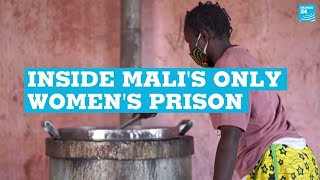 Inside Mali's only women's prison: Where inmates and their children wait for justice