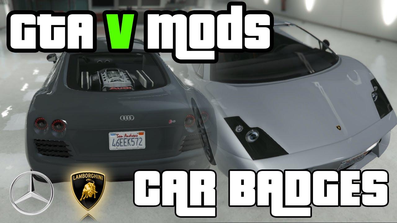 Real Hd Badges Gta V Mod Youtube
