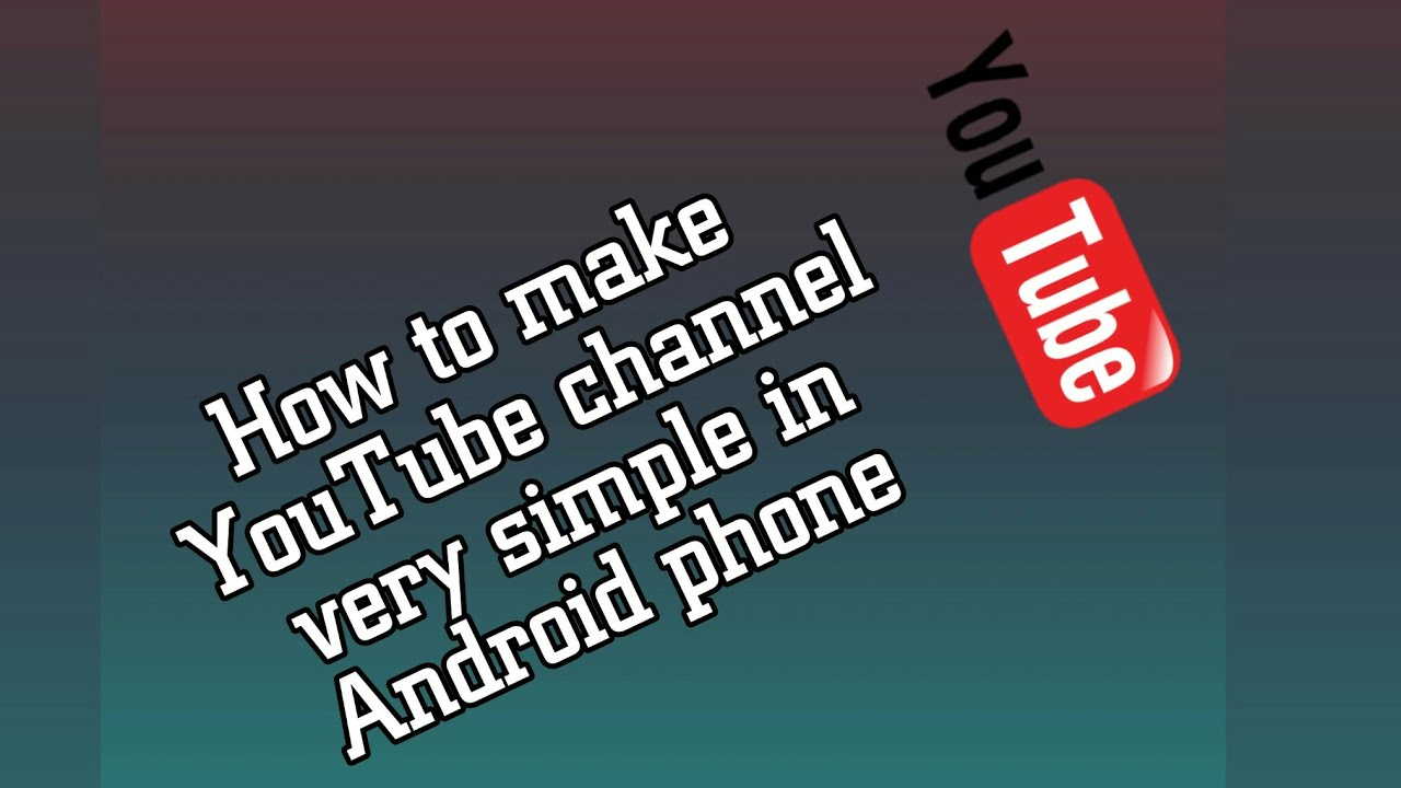 how to make youtube channel public on phone