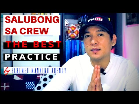 Salubong sa Seaman-Best Practice of Manning Agency (Crew Change 2020)