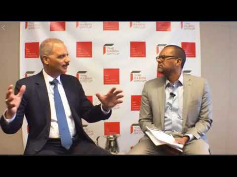 Former AG Eric Holder, 'General Counsel for the Resistance'