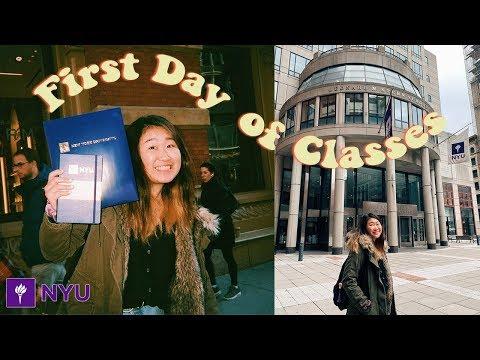 First Day Of Classes At NYU Vlog 🦋 | New York University