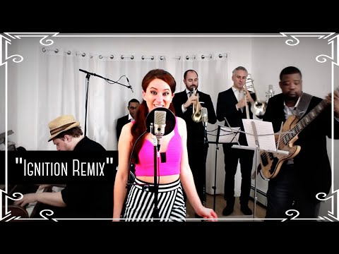 """""""Ignition Remix"""" (R. Kelly) - Motown Cover by Robyn Adele Anderson"""