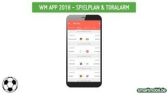 WM App 2018 - Spielplan & TorAlarm