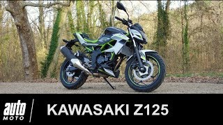 Kawasaki Z125 Essai POV Auto-Moto.com
