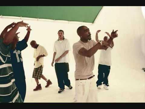 Tupac -Hit Em Up instrumental (with lyrics)
