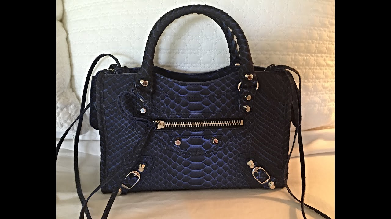 Balenciaga Classic City Bag Navy