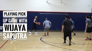Vlog #6: Playing Pick-Up Basketball in Los Angeles With Wijaya Saputra!