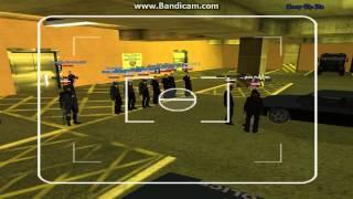 Запись с видеонаблюдения в гараже LVPD