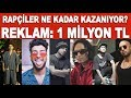 Türk rapçiler ne kadar kazanıyor? Reynmen, Norm Ender, Killa Hakan, Ceza, Ezhel, Ben Fero...