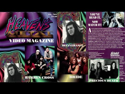 Heaven's Metal Video Magazine Volume Two (1994)