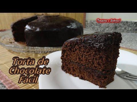 TORTA DE CHOCOLATE fácil y de licuadora