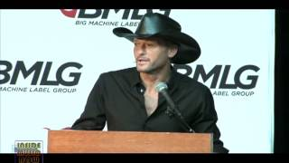 Tim McGraw/Big Machine Signing - Inside Music Row 1258