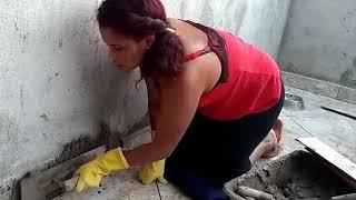 Como instalar rodape ceramica