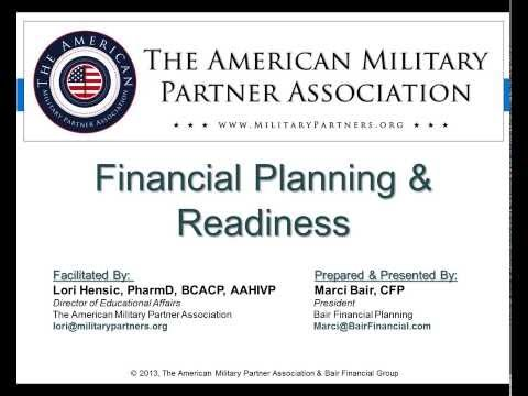 Financial Planning & Readiness Webinar for LGBT Military Spouses & their Families
