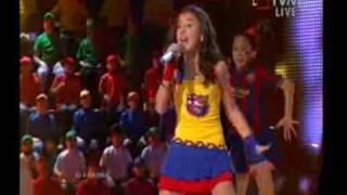 Luara Hayrapetyan - Barcelona (Junior Eurovision Song Contest 2009 ARMENIA)
