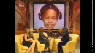 Whitney Houston and Mariah Carey on Oprah Winfrey