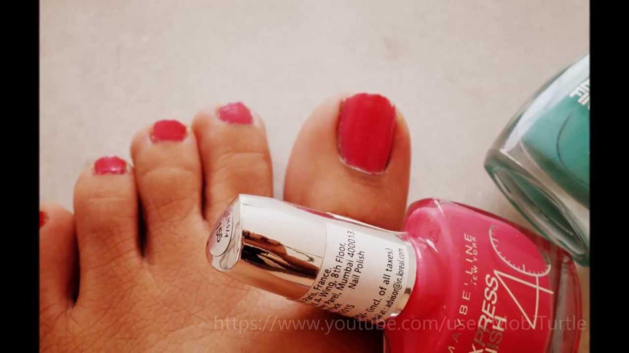Maybelline Express Finish Nail Polish Fuchsia [Photos and Swatch ...