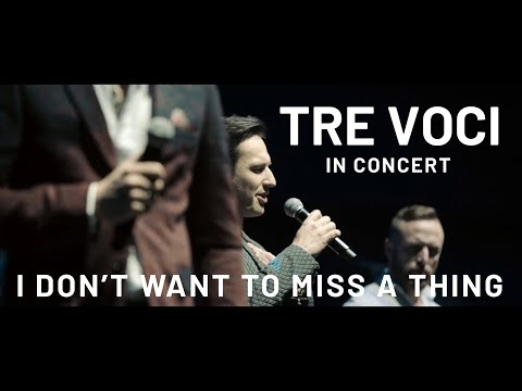 TRE VOCI | I don't wanna miss a thing ( Sala Ziemi MTP )