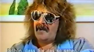 Deep Purple interview from late 1986 with Jon Lord, Roger Glover and Ian Paice.