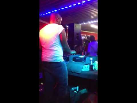 Shimza rocking joes butcher (Miami send off party): Shimza plays after black coffee & does what he does best!!
