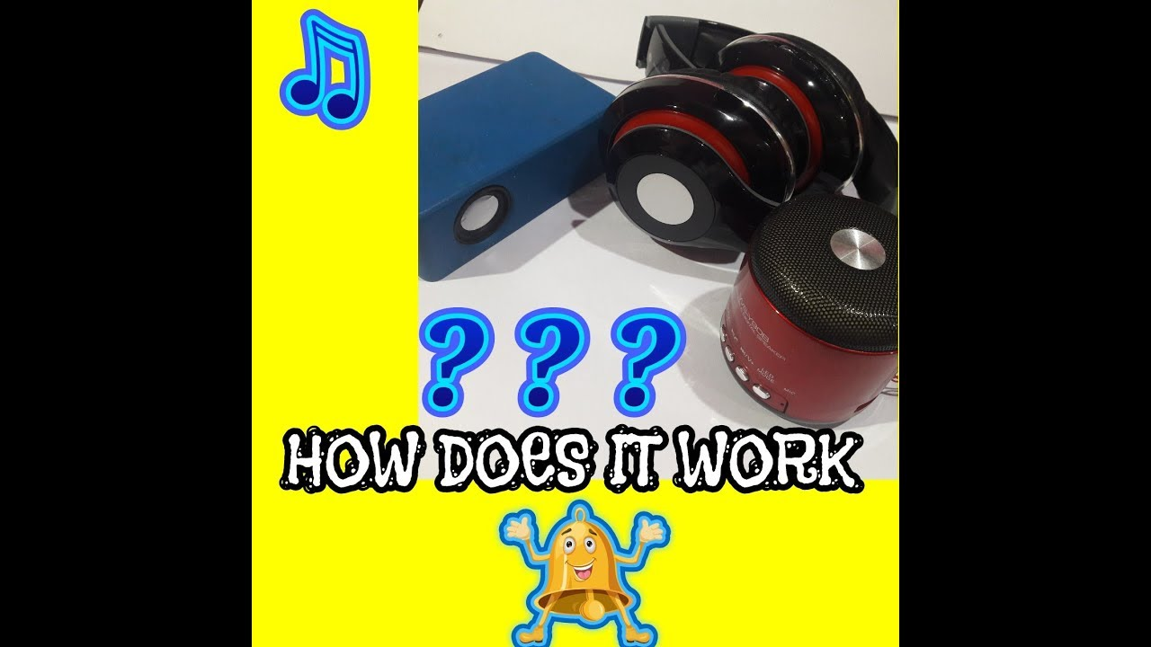 How Does Bluetooth Speakers Works