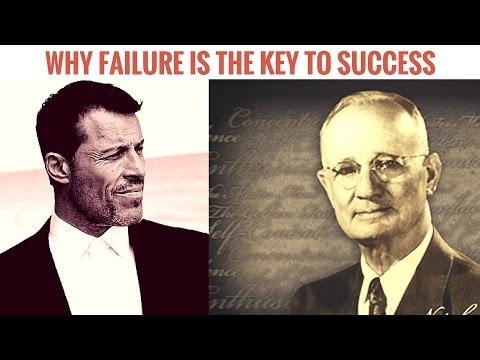 Tony Robbins & Napoleon Hill - Why Failure is the Key to Success | Tony Robbins Compilation