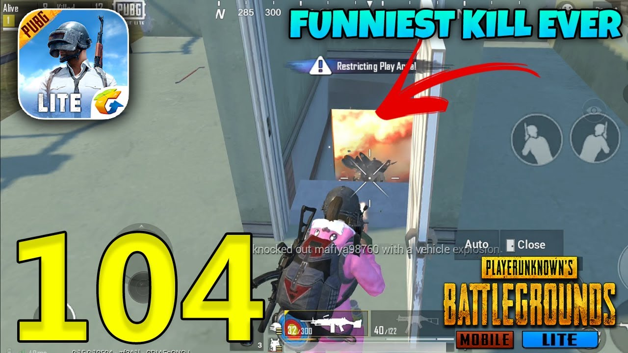Funniest Kill Ever In PUBG Mobile Lite | PUBGM Solo Squad Gameplay