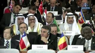 الرئيس بوتفليقة يدعو دول عدم الانحياز إلى توحيد جهودها للقضاء على آفة الإرهاب و إصلاح مجلس الأمن