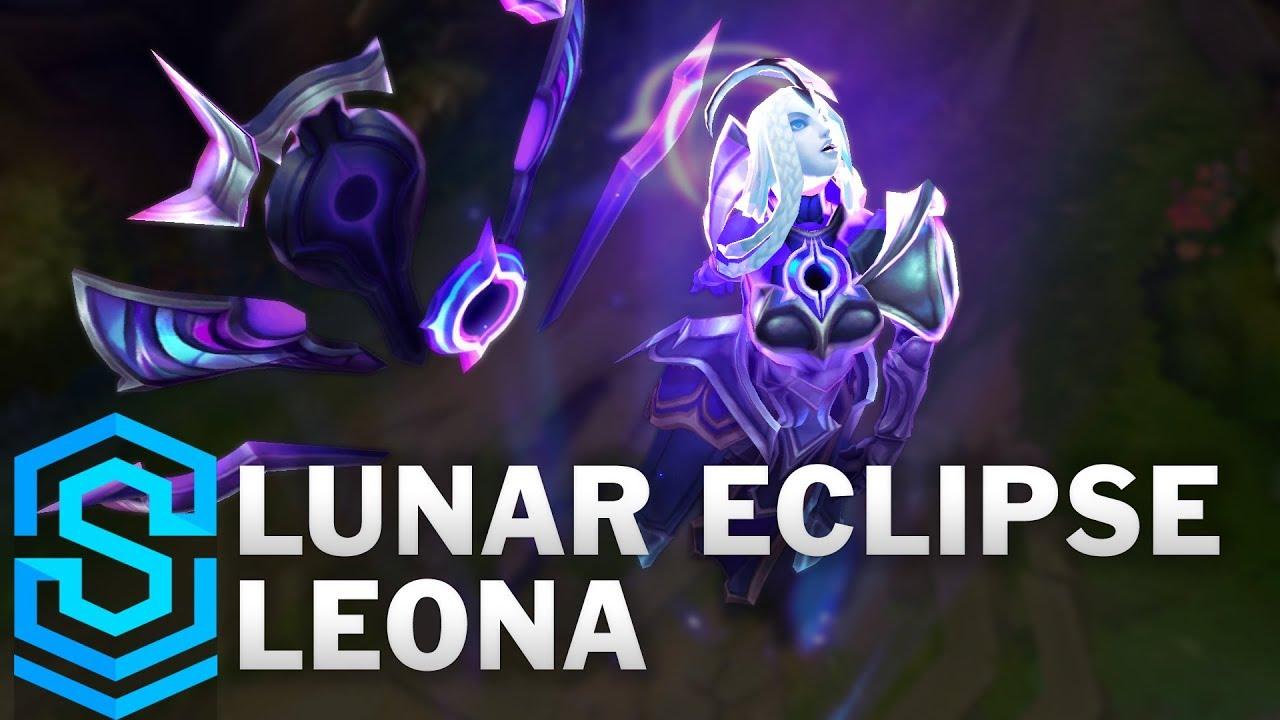 Lunar Eclipse Leona Skin Spotlight Pre Release League Of Legends