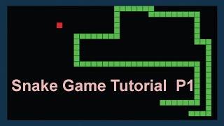 Gambar cover snake game javascript code tutorial in Hindi Part 1/3