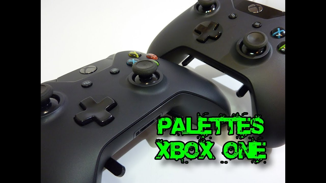 Palette IOne sur xbox one by i love my console - YouTube