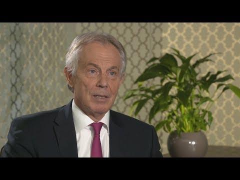 Tony Blair says the UK should intervene in Syria | ITV News