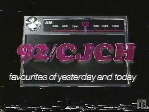 92/CJCH Halifax AM Radio Commercial 1993