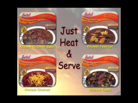 Heat & Serve 4 Flavours Sadaf Khoresh (Farsi Radio Commercial)