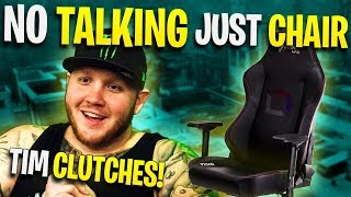 Fortnite - No Talking just chair - Clutch by TimTheTatMan ft. Trevor May and Liquid Chap | DrLupo