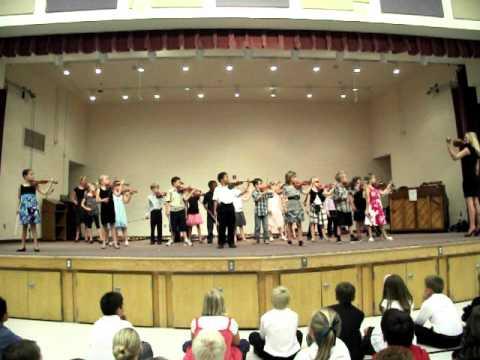 Las Sendas Elementary Suzuki Concert May 16 2011  YouTube
