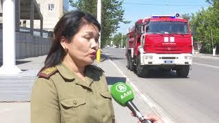 Не пропустил спецмашину – плати штраф. Пожарные провели спец-рейд в Костанае