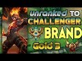 Unranked to Challenger Support Brand Gold 3