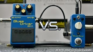Mooer Blues Mood VS Boss Blues Driver