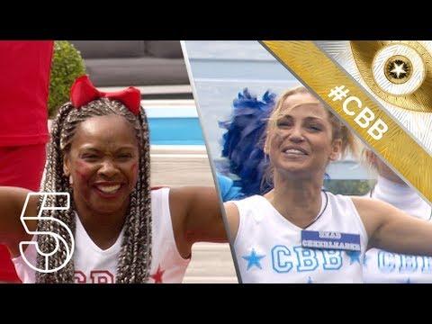Celebrities face a cheerleader challenge | Day 12