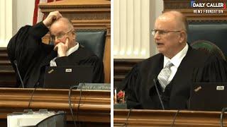 Tense Exchange At Rittenhouse Pre-Trial