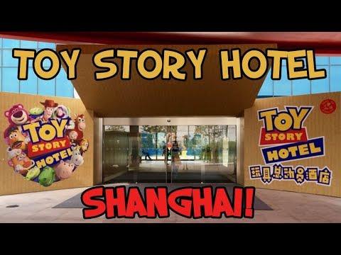 Checking into Toy Story Hotel Shanghai Disney! (Day-1) Travel Day! (GoPro)
