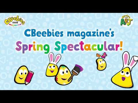 CBeebies Easter Fun wIth Creation Station and babyballet